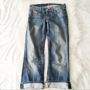 Bootcut Cropped Jeans by 7 For All Mankind